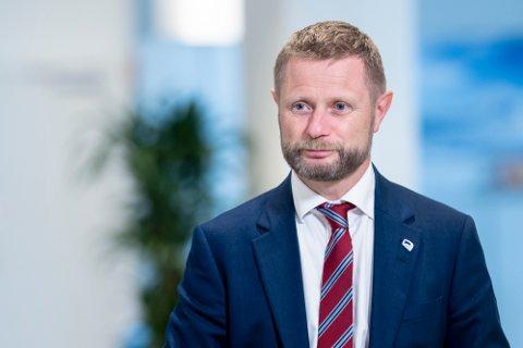 Helse- og omsorgsminister Bent Høie (H) sier deltavarianten av koronaviruset vil bli dominerende i løpet av juli.