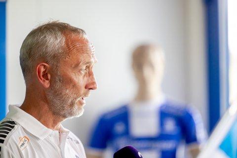 Lars Bohinen ble presentert som ny Sarpsborg 08-trener.