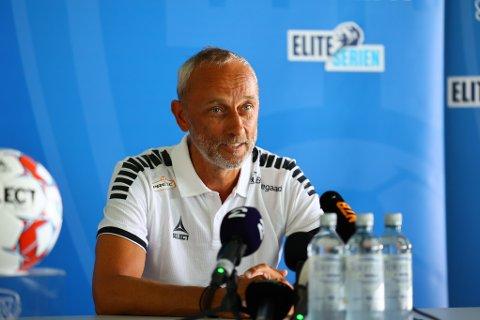 Lars Bohinen ble søndag presentert som Sarpsborg 08s nye trener.