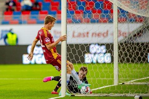 STARTER: Kristian Fardal Opseth får sjansen fra start mot Bodø/Glimt.