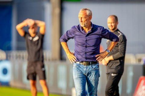 SKUFFET: Lars Bohinen mener Sarpsborg 08 leverte en solid prestasjon mot Bodø/Glimt selv om seieren glapp mot slutten.