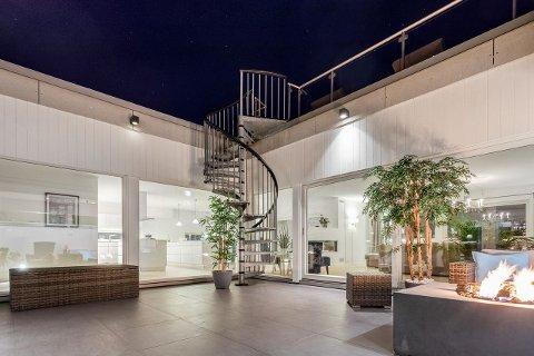 HØY PRIS: Huset i Neptunveien på Hafslundsøy ble solgt for 7.250.000 kroner.