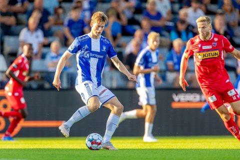 GOD: Gaute Vetti spilte en god kamp mot Sandefjord søndag.
