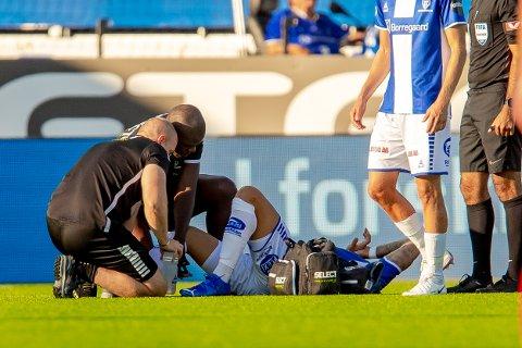 Sarpsborg 08s Guillermo Molins måtte ut med skade i kampen mellom Sarpsborg 08 og Sandefjord. Nå er han operert.