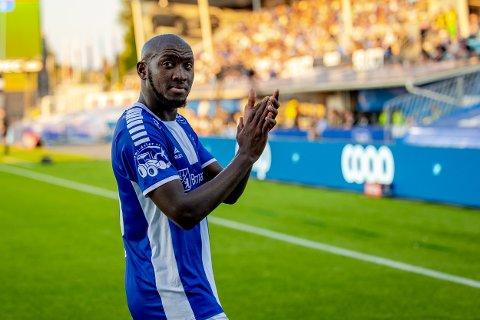 GAMLEKLUBBEN: Ibrahima Koné skal møte sin tidligere klubb Haugesund søndag.