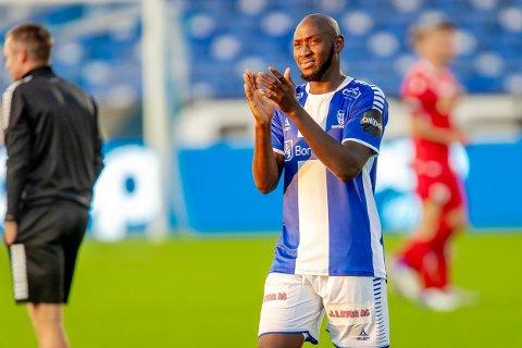 SCORING: Ibrahima Koné scoet i sin andre landskamp på rad da Mali vant 1-0 mot Kenya søndag.