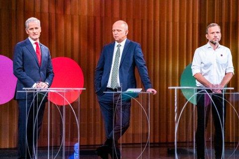 Mange kranglesaker ligger på bordet dersom det blir regjeringsforhandlinger mellom Ap-leder Jonas Gahr Støre, Sp-leder Trygve Slagsvold Vedum og SV-leder Audun Lysbakken.