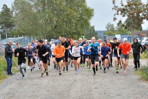 GOD DELTAKELSE: Det var 50 utøvere som fullførte Torsdagsløpet denne uken.