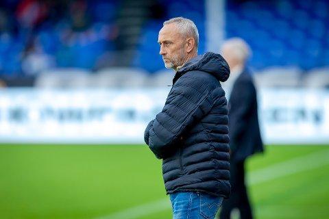 SKUFFET: Sarpsborg 08s trener Lars Bohinen mener at formasjonsendringen ikke er årsaken til at det ble tap mot RBK.