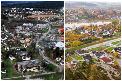 FORSKJELLER: Det er store forskjeller mellom  kvadratmeterprisene på Grålum og Yven.