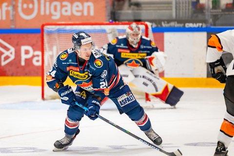 GOD: Mattias Nilsson leverte en meget god kamp mot Frisk Asker.