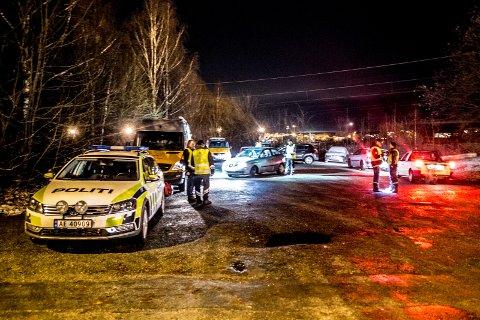 STORKONTROLL: Tirsdag kveld ble det gjennomført en storkontroll i Sarpsborg og Fredrikstad i regi av politiet og Statens vegvesen.