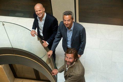 Billedtekst: Fra venstre: Lars Giil, Audun Stensvold og Øyvind Schage Førde.
