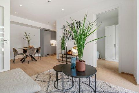 LITEN, MEN DYR? En leilighet på 40 kvadrat ble solgt for 2,75 millioner kroner.