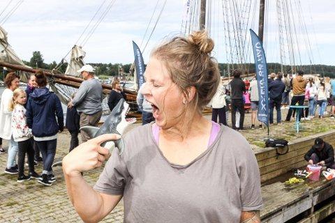Fascinert av havet: Pia Ve Dahlen er ute med boken «Verden under vann» etter forespørsel fra forlaget Vigmostad og Bjørke.