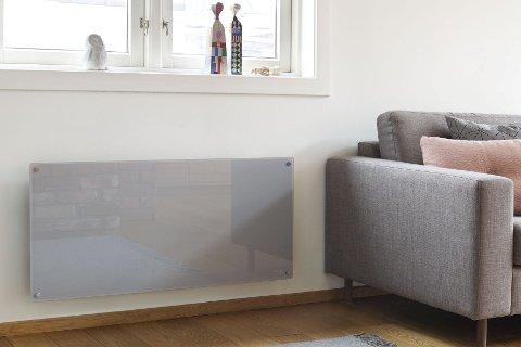 Å henge ovnen på veggen er typisk norsk. Men nå er tendensen at flere vil ha flyttbare ovner de kan sette vekk.