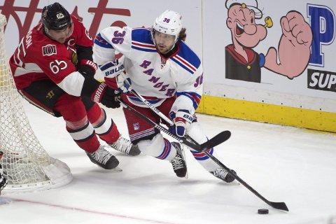 Vår oddstipper mener at New York Rangers og Mats Zuccarello vinner hjemmekampen mot Nashville i natt.