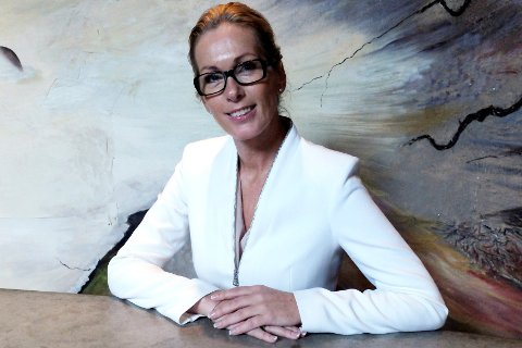 Administrerende direktør i Innovasjon Norge, Anita Krohn Traaseth, skale dele ut Bygdeutviklingsprisen 2015 under Grüne Woche i Berlin.