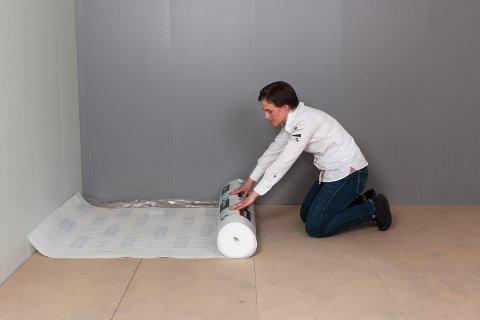 Mellom parketten og undergulvet skal det alltid brukes et gulvunderlag.