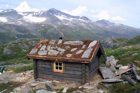 Slik er utsikten fra Staupådalsbua i Beiarn i Nordland.