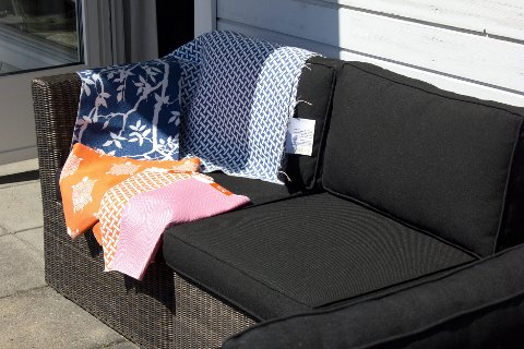 Tekstilene finnes i mange mønstre og har mange veveteknikker.