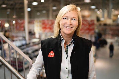 Salgs- og markedsdirektør Kari Moberg i Byggmakker.