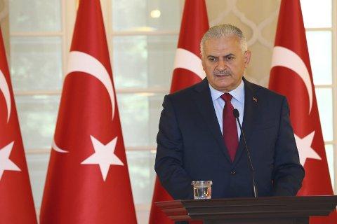 BREV: Statsminister i Tyrkia, Binali Yildirim får brev fra tre norske fagforeningstopper.  FOTO: REUTERS, NTB scanpix