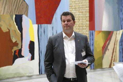 ADVARER: Hans-Christian Gabrielsen advarer regjeringen mot å bagatellisere ledighetsproblemet. FOTO: NTB scanpix
