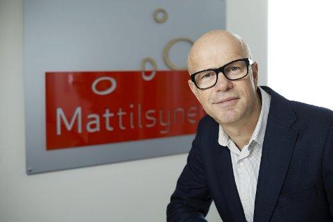 Evaluering: Smilefjesordningen kan bli utvidet til andre bransjer, forteller Ole Fjetland i Mattilsynet. Foto: Pressebilde/anb