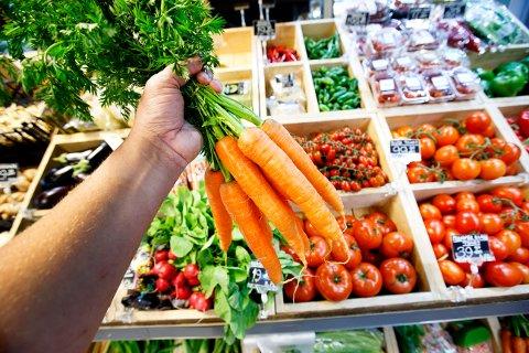 Aldri har statistikken antydet at vi spiser mer grønnsaker enn nå.