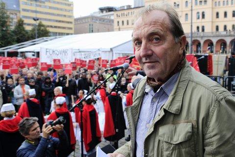 Roy Pedersen, leder i LO Oslo.