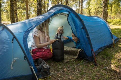 På www.bua.io er det mulig å låne blant annet telt.