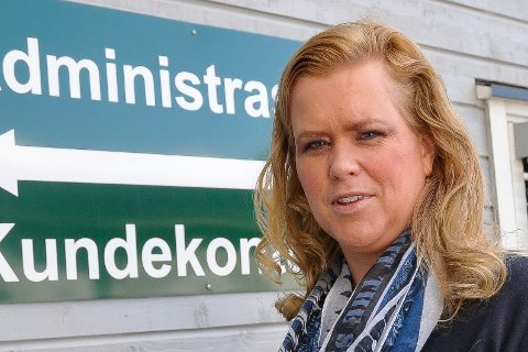 KOMMUNIKASJONSSJEF: Aimee Eilertsen. ARKIV
