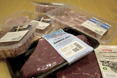SETT DEM FØR? Ser du pakker som dette ute i butikken der du handler, kommer de fra Norfersk i Hærland.