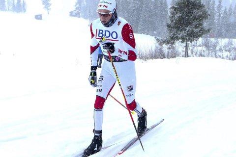 IMPONERTE: Skjetvingen Jonas Udjus Frorud gikk inn til 18. plass på 15 kilometer klassisk på Beitostølen og slo flere toppløpere.