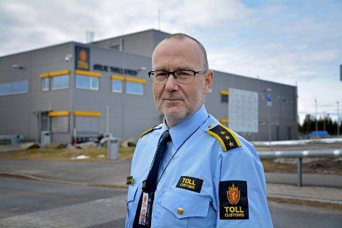 Nils Henrik Olsson ved Ørje Grensekontrollstasjon.