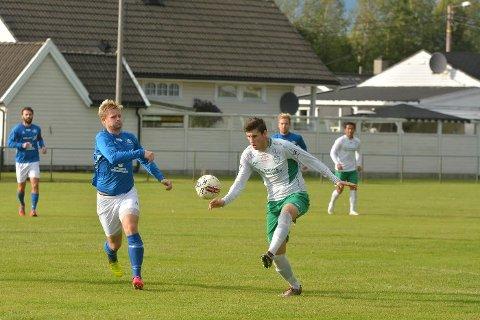 Scoret to: Terje Hellan bidro godt til uavgjort for Mysen.
