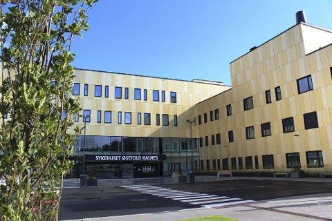 Nytt sykehus: Mandag 2. november åpner Sykehuset Østfold Kalnes. Da får de fødende igjen tilbud om bruk av lystgass.