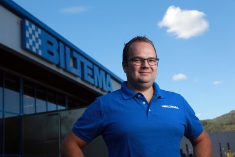 VOKSER: Biltema vokser kraftig over hele Norge. Også butikken i Askim gjør det meget bra. Ifølge Biltema-sjef Knut Svenningen økte omsetningen i Askim med 12 prosent i fjor.