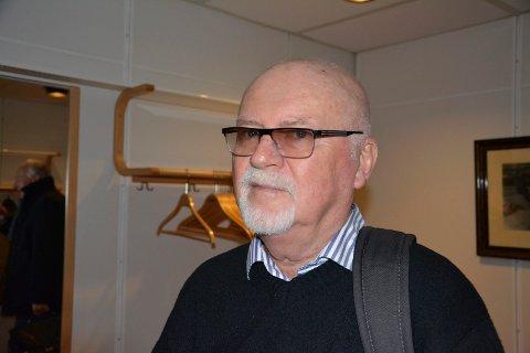Bjørn Ring Opjordsmoen hadde mange miljøspørsmål på hjertet under kommmunestyrets møte nylig.