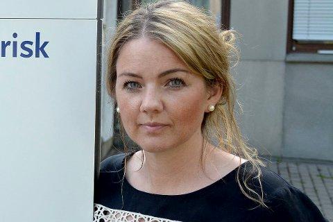 Cecilie Agnalt, gruppesekretær - Østfold Arbeiderpartis fylkestingsgruppe. ARKIVFOTO
