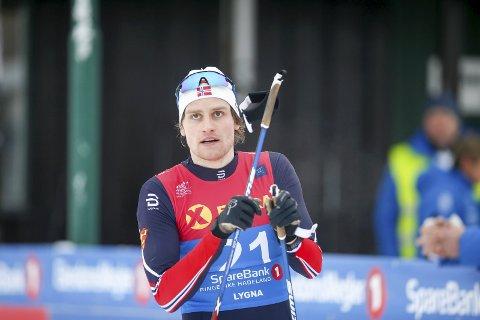 Lygna 20170203. GOD: Sindre Odberg Palm staket seg fra Rena til Lillehammer på en meget godt tid.