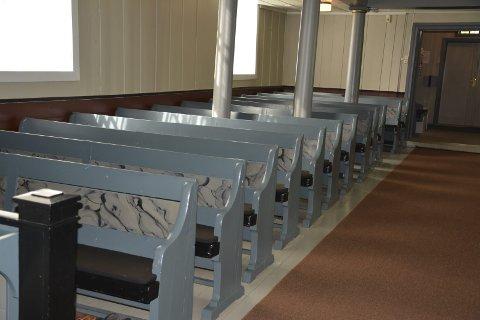 Benkene i Hovin kirke ble laget av Bøhlers oldefar.