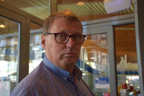Daglig leder for Østfoldbadet David Koht-Norbye..