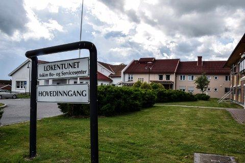 Kan bli større: Rundt Løkentunet i Askim er det satt av areal til at institusjonen kan utvides.