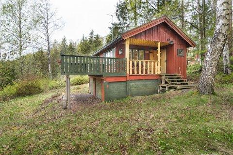 BILLIGST: Dette er Østfolds billigste hytte ute til salgs på Finn.no nå.