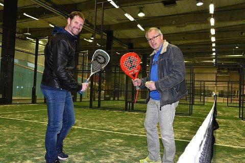 AVSLUTTET KAPITEL: Roddy McLeod (39) og Thorbjørn Berger (58). har avsluttet samarbeidet med den dopingdømte  Strongman-utøveren..