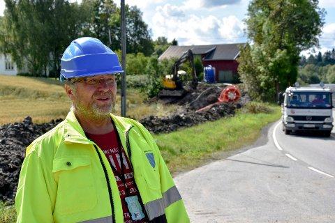 Rune Nikolaisen prosjektlede for arbeidene langs Trøgstadveien