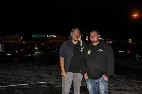 Arrangører: Jørund Husfloen Tronstad og Christer Nilsen arrangerte streetmeeten.