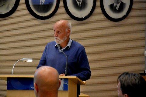 Alkoholfri matbutikk: Kjell Ove Tangen (KrF) Askim vil at den nye Kiwi-butikken i Vammaveien skal være alkoholfri.